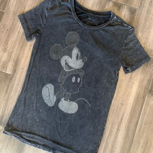 Women's Vintage Look Mickey Mouse Shirt